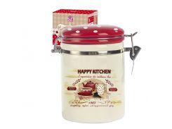 Ёмкость для сыпучих S&T Happy Kitchen 1,2 л ST 631-11