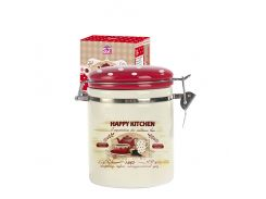 Ёмкость для сыпучих S&T Happy Kitchen 0,75 л ST 629-11