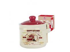 Банка для меда с деревянной ложкой S&T Happy Kitchen ST 2370-11