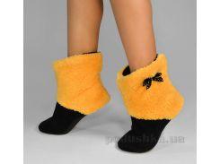 Домашние женские тапочки Slivki Honey Yellow 42-43