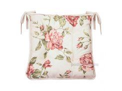 Подушка на стул Прованс Large pink rose 40х40 см