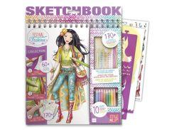Набор для творчества Festival Fashion (альбом для раскрашивания, карандаши) Wooky AKT-01426