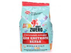 Стиральный порошок Kraft Zverg для цветного белья 1 кг 54322 KZ 4040448543222