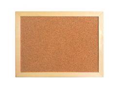 Доска пробковая 45х60 см деревянная рамка Axent 9601-A