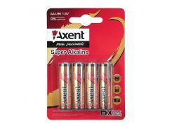 Батарейки AXENT ААА LR03 1,5V 4 шт(щелочные) Axent 5553-A