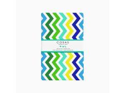 Простынь Cosas Зигзаг цветной Размер: 155х240 см