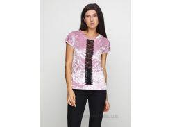 Блуза женская Martlet 465 мраморный велюр XL