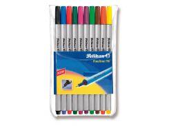 Ручки лайнеры Pelikan Fineliner 10 цветов 940676