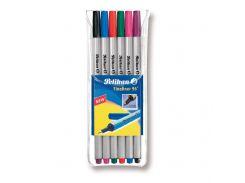 Ручки лайнеры Pelikan Fineliner 6шт цветные 940650