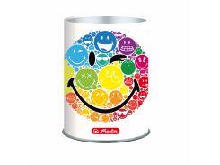 Подставка для ручек металлическая Herlitz Smiley World Rainbow 50002108