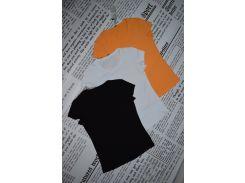 Футболка женская Модна Країна оранжевая XL