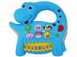 Интерактивная панель BeBeLino Музыкальный динозавр голубой 58090-1