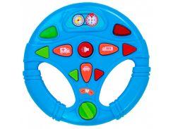 Мой первый интерактивный руль BeBeLino голубой 58083-1