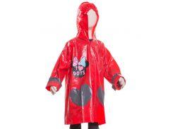 Плащ-дождевик Минни Маус Disney (Arditex) красный WD11627 red-6 116-122