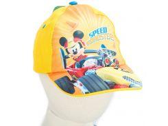 Кепка Микки и веселые гонки Disney (Arditex) желтая WD11884 yellow 44-46