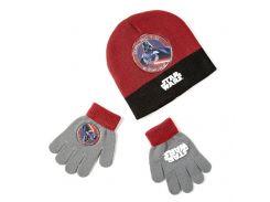 Шапка и перчатки Звездные войны Disney (Arditex) терракотовые SW9868 terracotta-51 50-52