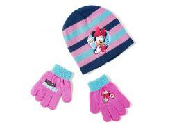 Шапка и перчатки Минни Маус Disney (Arditex) WD9758 lilac 50-52