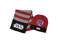 Шапка и шарф Звездные войны Disney (Arditex) красный SW9867 terracotta-51 50-52