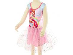 Платье для танцев Барби Disney (Arditex) розовое BR11338 116-122