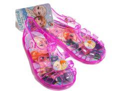 Босоножки мыльницы Холодное сердце Disney (Arditex) розовые WD11078 24