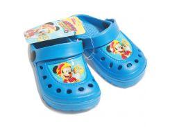 Сабо Микки и веселые гонки Disney (Arditex) голубые WD11891 30