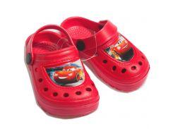 Сабо Тачки 3 Disney (Arditex) красные WD11953 24