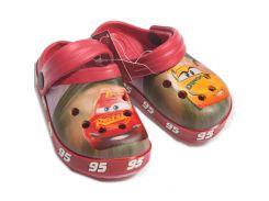 Сабо Тачки 3 Disney (Arditex) красные WD11954 24