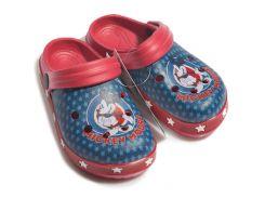 Сабо Микки Маус Disney (Arditex) красные WD12031 26