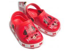Сабо Минни Маус Disney (Arditex) красные WD12044 22
