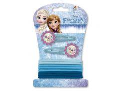Набор заколок на волосы Холодное сердце Disney (Arditex) с резинками WD9542