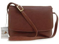 Женская кожаная сумка Visconti 03190 Claudia brown