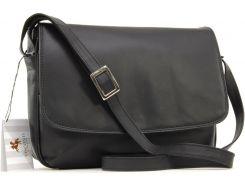 Женская кожаная сумка Visconti 03190 Claudia black
