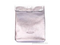 Кожаная сумка-клатч Poolparty Lunchbox lunchbox silver