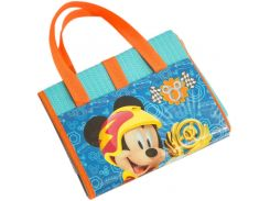 Пляжная сумка-коврик Микки и веселые гонки Disney (Arditex) бирюзовый WD11896