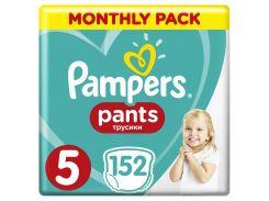 Подгузники-трусики Pampers Pants Размер 5 Junior 12-17 кг, 152 шт 8001090808004