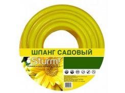 """Шланг садовый STURM 3015-17-5820 5/8"""" 20м Economy желтый"""