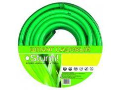 """Шланг садовый STURM 3015-18-1230 1/2"""" 30м Standart салатовый"""