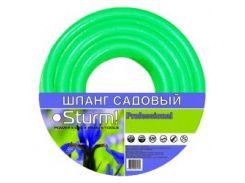 """Шланг садовый STURM 3015-19-3420 3/4"""" 20м Professional бирюзовый"""