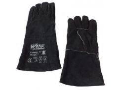 Перчатки замшевые (краги) Werk WE2127H с подвеской (68084)
