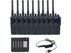 Комплект цифровой оперативной радиосвязи PUXING PX-800_UHF_9 (Гр8000)