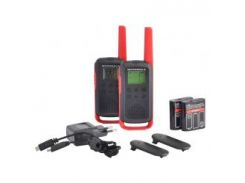 Рации Motorola TALKABOUT T62 RED TWIN PACK & CHGR WE (Гр8111)