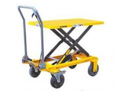 Стол подъёмный гидравлический GROSSLIF SP200 (200 кг, 1000 мм, пневмо колёса) (10403)