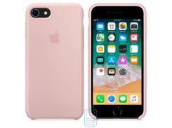 Чехол Apple Silicone Case iPhone 6, 6S бледно-розовый 19