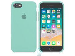 Чехол Apple Silicone Case iPhone 6, 6S бирюзовый 21