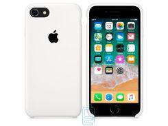 Чехол Apple Silicone Case iPhone 6, 6S белый 09