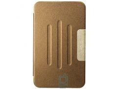 Чехол-книжка для ASUS MeMO Pad 8 ME181 пластиковая накладка Folio Cover Бронзовый
