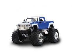 Джип микро р/у 1:43 Hummer (синий)