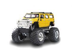 Джип микро р/у 1:43 Hummer (желтый)