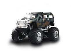 Джип микро р/у 1:43 Hummer (хаки зеленый)