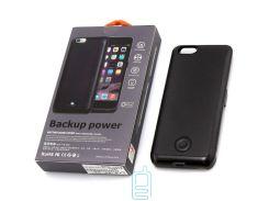 Чехол-аккумулятор X366 Apple iPhone 6 Black Skin